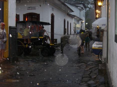 Pferdekutsche im Regen: Sicher unterwegs mit natürlichem Motor