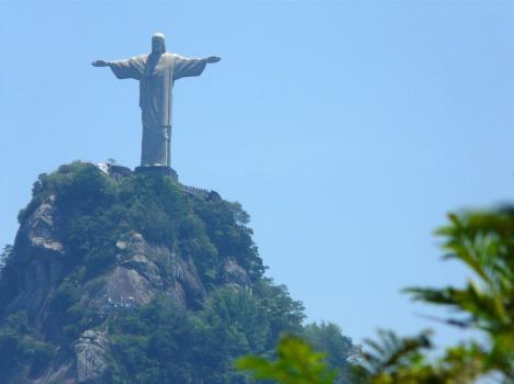 Cristo Redentor auf dem Gipfel des Corcovado: Jesus Christ Superstar?