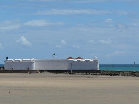Fortaleza an der Küste Natals: Abwechselnd von Portugiesen und Holländern besetzt