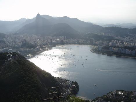 Rio vor Sonnenuntergang: Jede Vorstadt aus der Erinnerung gelöscht